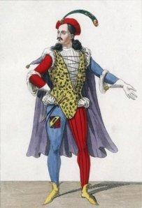 Alexandre Dumas - Don Juan de Mañara, ou La Chute d'un ange, ilustración de 1836
