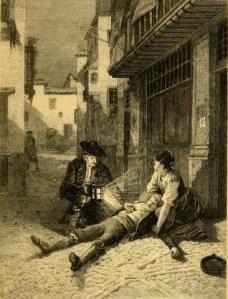 Théophile Gautier – Militona, ilustración de Adolphe Weisz y Adrien Moreau (1900)