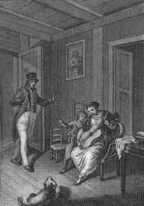 Félicité de Genlis - Las Batuecas, ilustración de la edición española de 1826