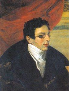 Nikolay Gnedich, retratado por Orest Adamovich Kiprensky (1782–1836)