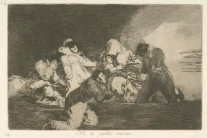 Francisco de Goya y Lucientes – No se puede mirar