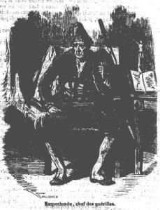 E.T.A. Hoffmann – L'Enchaînement des choses, ilustración de Valentin Foulquier (1872)