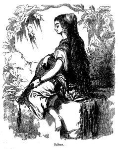 E.T.A. Hoffmann – Le Sanctus, ilustración de Valentin Foulquier (1822-1896)
