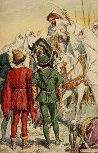 Washington Irving – Tales of the Alhambra, ilustración de C.E. Brock (1910)
