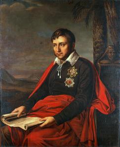 Jan Potocki, retrato de Alexander Varnek (1810)