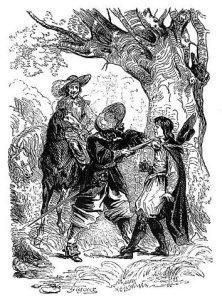 Alain-René Lesage - Histoire de Gil Blas de Santillane, ilustración de Jean Gigoux (1835)
