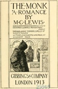 Matthew Gregory Lewis – The Monk, edición ilustrada de 1913