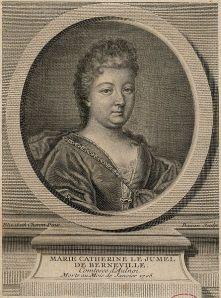 Madame d'Aulnoy, grabado del siglo XVIII