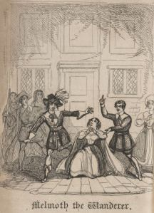 Charles Robert Maturin – Melmoth the wanderer (ilustración para la edición teatral, S. XIX)