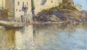 Eliseo Meifrén - La Playa de Cadaqués