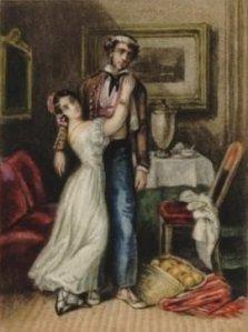 Carmen, inspirado en una acuarela de Prosper Mérimée (1890)
