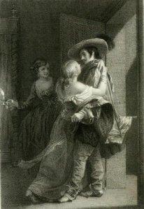 Alfred de Musset – Don Paez, ilustración de M. Bida (1866)