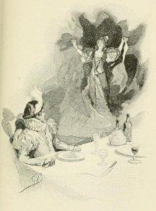 Charles Nodier – Inès de las Sierras, ilustración de G. Picard (1894)