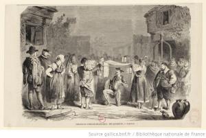 Victorien Sardou – Don Quichotte, ilustración de Henri-Alfred Darjou (1864)