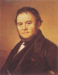 Stendhal, retrato de 1840