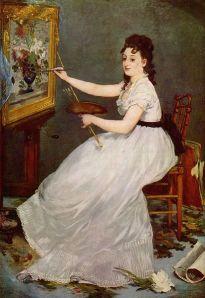Édouard Manet - Retrato de Eva González