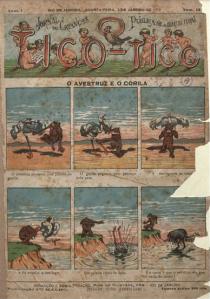 Un ejemplar de 1906 de la revista brasileña « O Tico Tico »