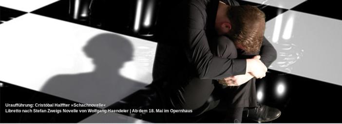 Schachnovelle, compuesta por Cristóbal Halffter, inspirada en El Jugador de ajedrez, de Stefan Zweig