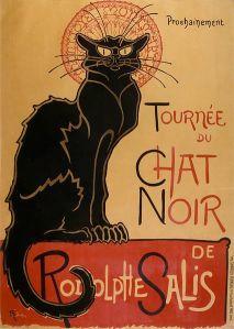 Théophile-Alexandre Steinlen – Tournée du Chat noir de Rodolphe Salis (1896)