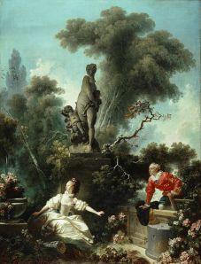Jean-Honoré Fragonard - Les Progrès de l'amour : la rencontre (1771-1772)