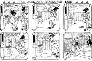 George Herriman – Musical Moose (1902)
