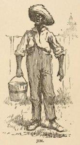 Jim, en las Aventuras de Huckleberry Finn (1891)
