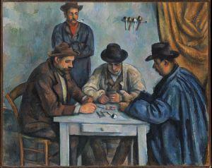 Paul Cézanne - Los Jugadores de cartas (1890-1892)