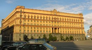 El edificio de la Lubianka, en Moscú