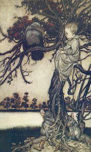 J.M. Barrie - Peter Pan, ilustración de Arthur Rackham (1906)