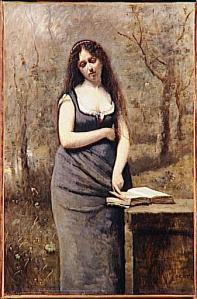 Jean-Baptiste-Camille Corot – Velléda (1868-1870)