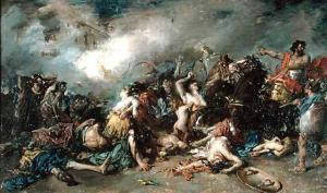 Francisco Domingo Marqués – Los Últimos Días de Sagunto (1869)