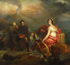 François Gérard – Corinne en el Cabo Miseno (1819-1822)