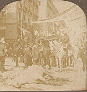 El atentado del 31 de abril de 1906 en Madrid