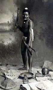 Una postal de 1910 de Papúa-Nueva Guinea