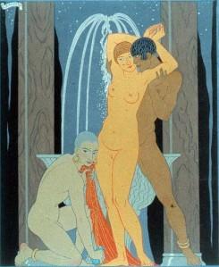 Marcel Schwob – Clodia, Matrone impudique, ilustración de Georges Barbier (1929)