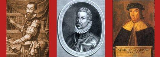 Garcilaso de la Vega, Francisco de Aldana, Jorge Manrique