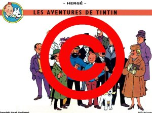 Tintín y sus amigos : ¿ bajo copyright para siempre ? :(