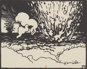 Félix Vallotton - La Tranchée (C'est la guerre), 1915