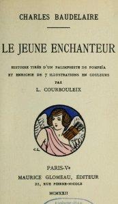 Charles Baudelaire – Le Jeune Enchanteur, ilustración de L. Courbouleix (1922)