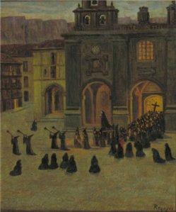 Darío de Regoyos - Mañana del Viernes Santo en Orduña (1903)