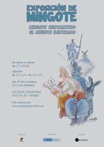 Mingote Cervantino. El Quijote ilustrado, hasta el 14 de diciembre en la Sociedad Cervantina