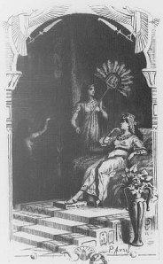 Théophile Gautier – Une nuit de Cléopâtre, ilustración de Paul Avril (1894)