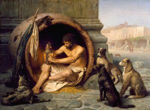 Jean-Léon Gérôme – Diógenes (1860)