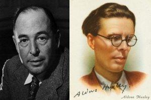 C.S. Lewis y Aldous Huxley