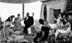 Mauricio López Robert - La Tristeza de Thamar (1904)