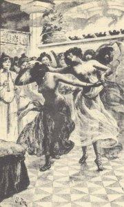 Pierre Louÿs – Aphrodite, ilustración de Édouard Zier (1900)