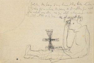 Unos de los manuscritos de « À la recherche du temps perdu », conservados en la Biblioteca Nacional de Francia