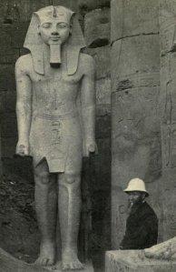Boreslaw Prus – Faraon, fotografía del autor en Egipto