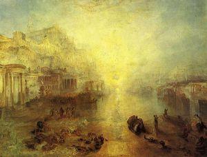 J.M.W. Turner - Ovidio desterrado de Roma (1838)