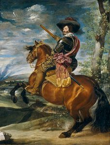 Diego Velázquez - El Conde-Duque de Olivares a caballo (c. 1634)
